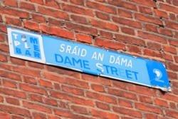 Trinity + Dame Street Area