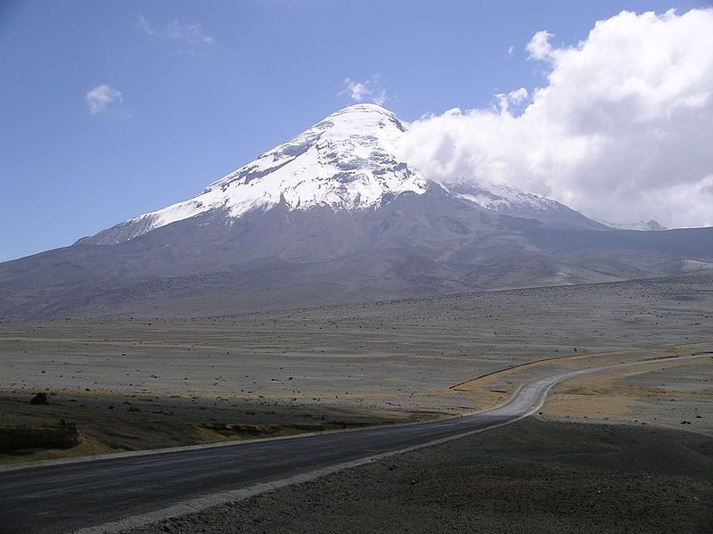 View of Chimborazo volcano (photo by André Hübner)