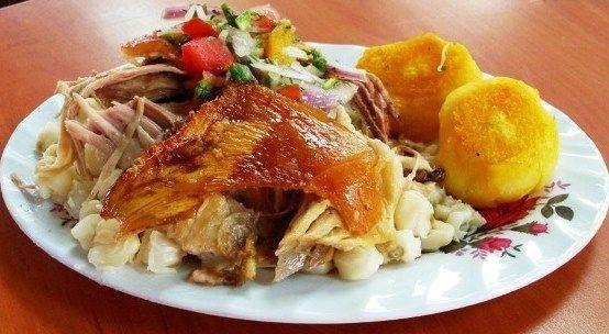 Hornado Platter (photo credits: Foto Coronel)