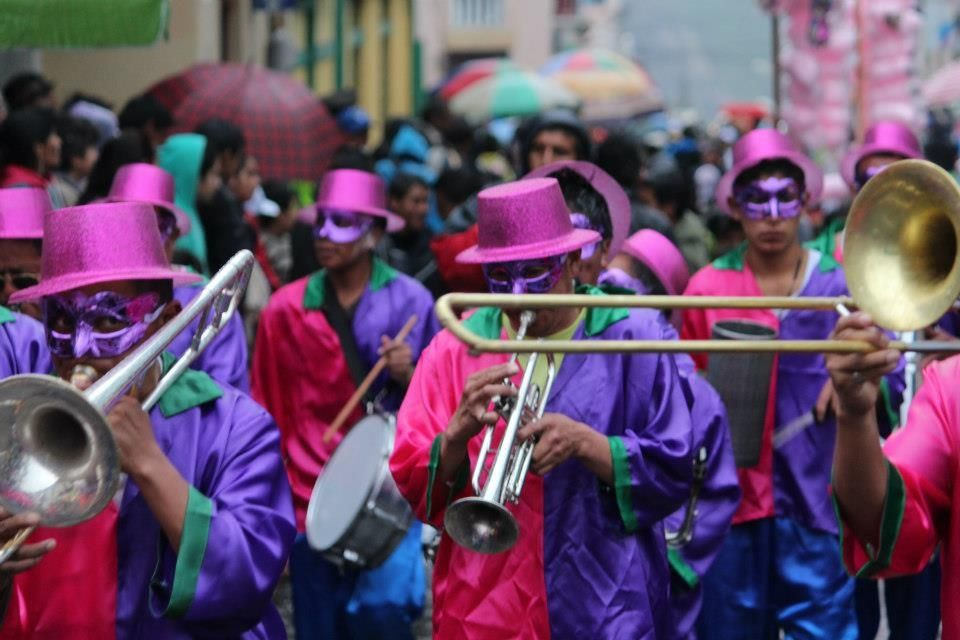 Guaranda Carnival (photo courtesy of Carnaval de Guaranda)