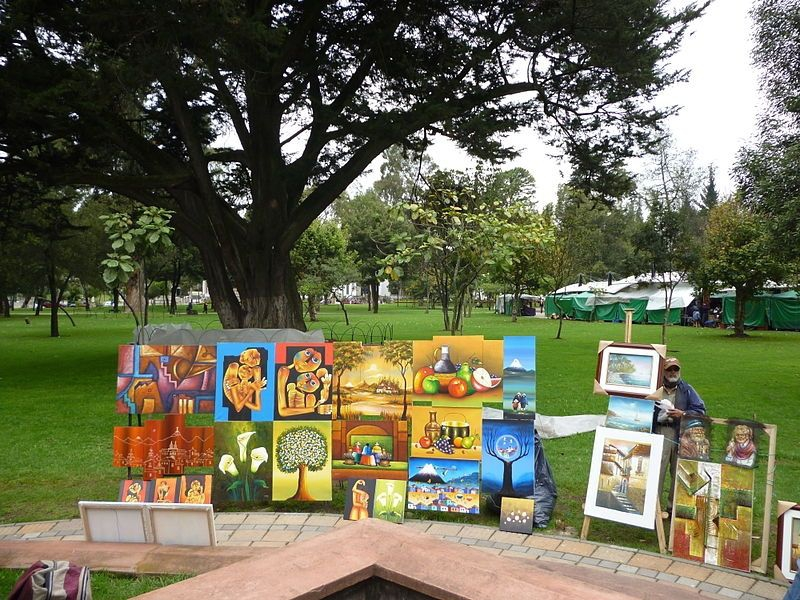 Parque El Ejido Art Fair