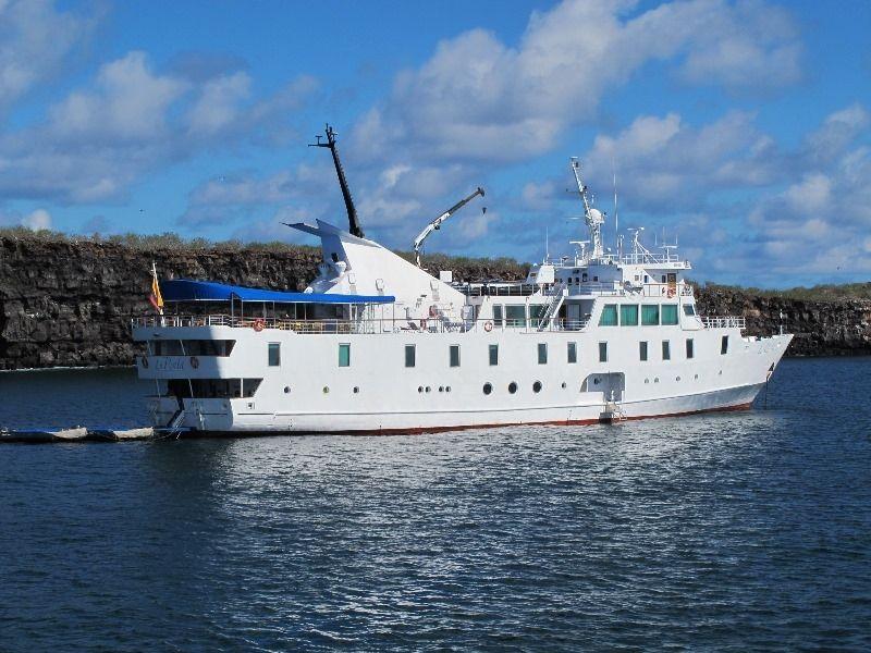 Medium-Sized Luxury Yacht