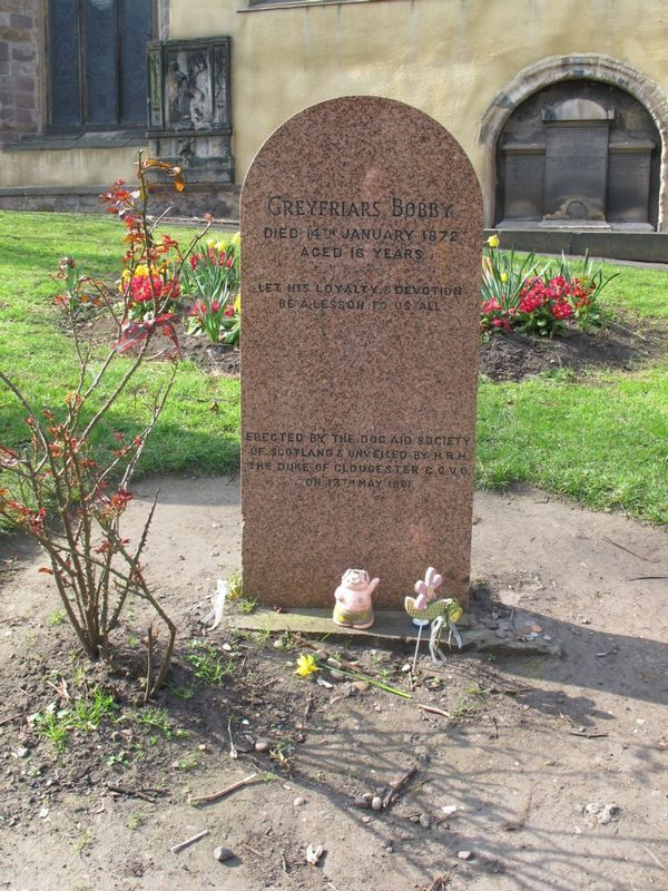 The grave of Greyfriar