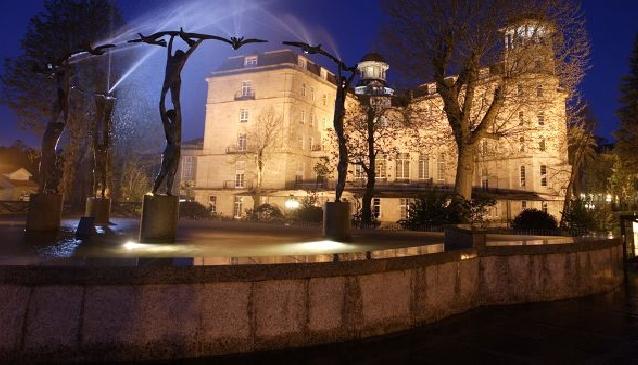 Balneario de Mondariz in Galicia