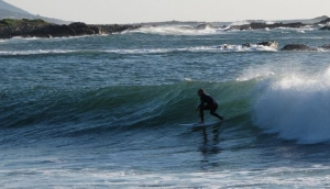 Surfing in Galicia