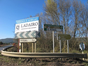 Adegas Ladairo - Road to the Winery