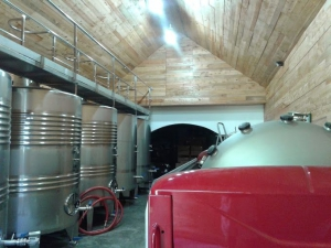 Stainless Steel Tanks and Wine Press
