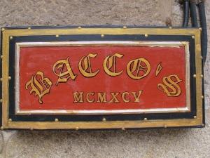 Bacco's