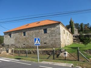 Casa rectoral, Crecente