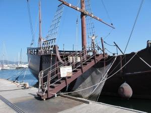 Entrance to Ship
