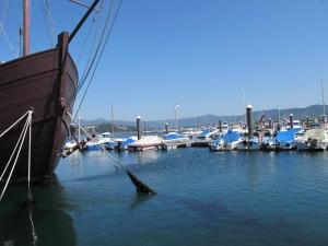 Views of Baiona Marina