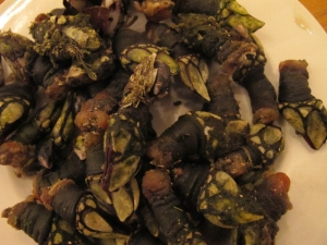 Plate of Percebes