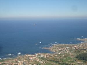 Rias Baixas and a Cruise Liner
