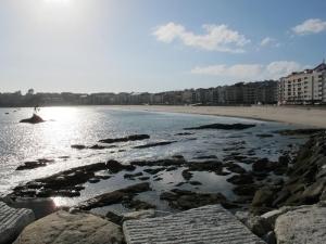Silgar Beach, Sanxenxo