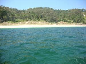 Spectacular wild, deserted beaches