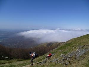 Start of Camino views of Spain-Roncesvalles Pass