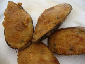 Stuffed Mussels,Bouzas