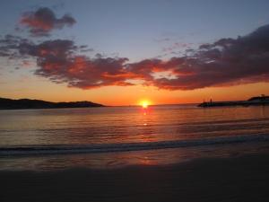 Sunset America Beach, Nigrán