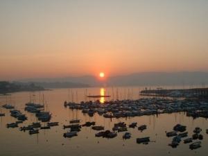 Sunset, Sanxenxo