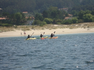 Surf canoeing near Cabo Home