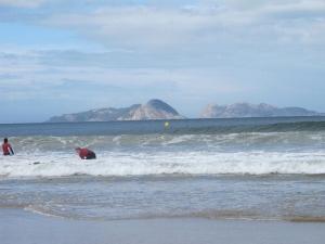 Surfing in Los Patos,Nigran