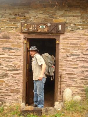 Typical Pilgrim in Lugo