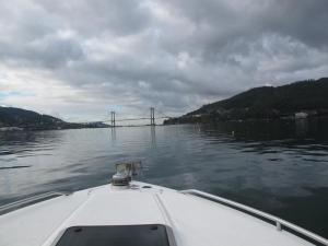 Views of Rande Bridge, Vigo