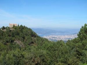 Views of Vigo from Mirador de Cepudo