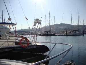 Vigo from the Docks of Marina Davila Sport