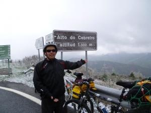 Way through the Galician Mountains