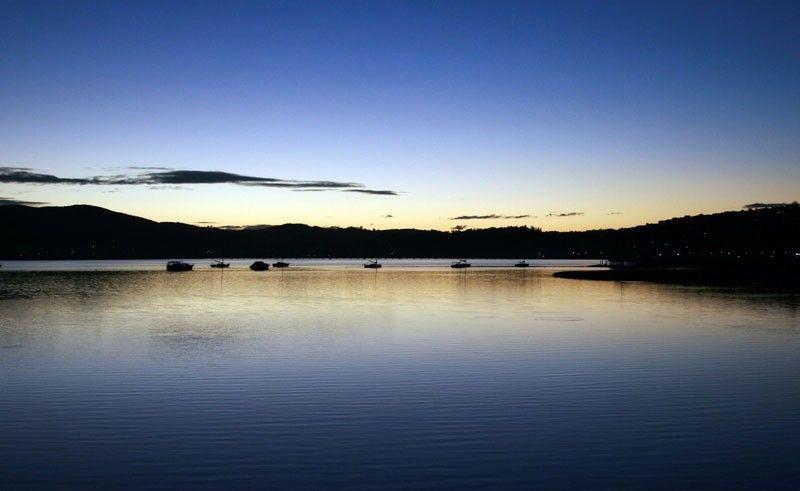 Sunset Knysna Lagoon South Africa