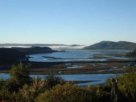 View from the Phantom Forest Eco Lodge, Knysna, South Africa