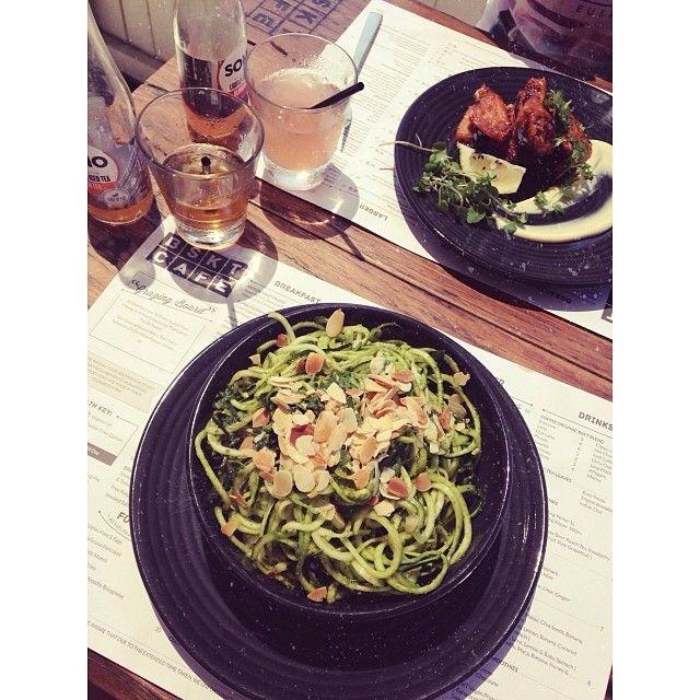 Lunch at BSKT Cafe