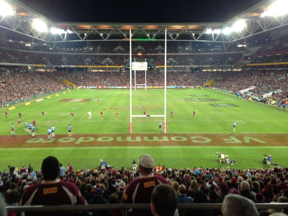 The second match of 2013 at Suncorp Stadium, Brisbane