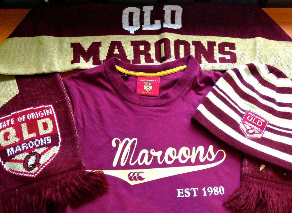 Official Maroons supporter merchandise