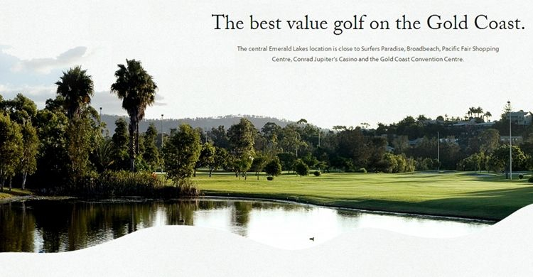 emerald lakes golf club in gold coast my guide gold coast. Black Bedroom Furniture Sets. Home Design Ideas