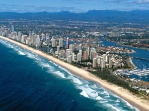 Beautiful Gold Coast Beach