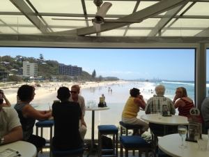 Breakfast with a View at Currumbin Beach