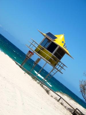Lifeguard House at Kurrawa Beach