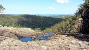 View from Minyon Falls Northern NSW
