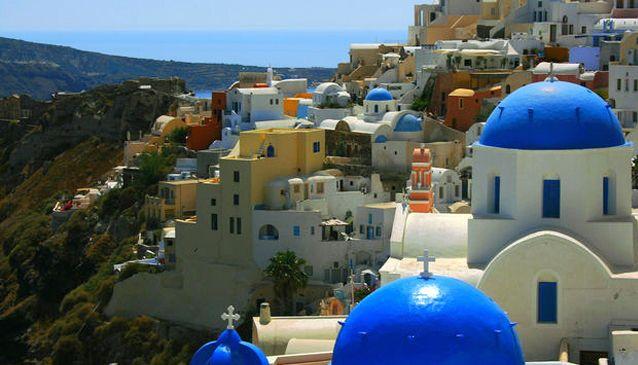 Santorini is the European Paradise