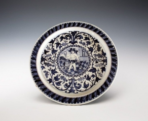 Chinese export porcelain. Blue and white décor. 17th- 19th century