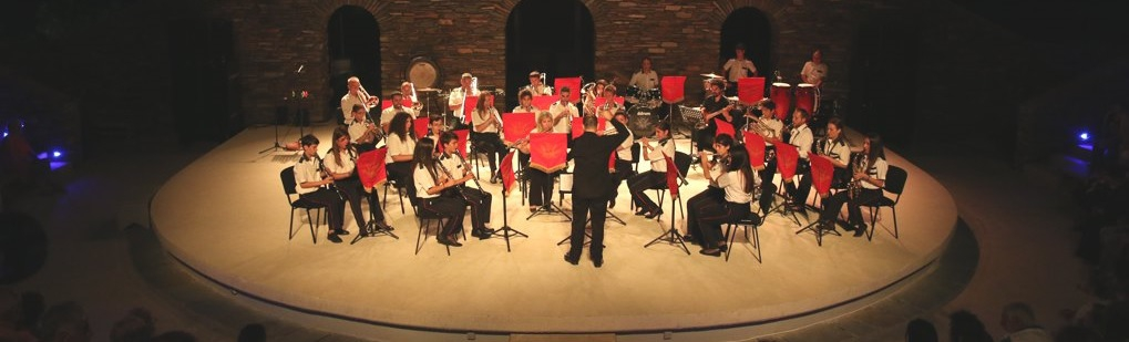 The Philharmonic Orchestra of the Music Association of Andros