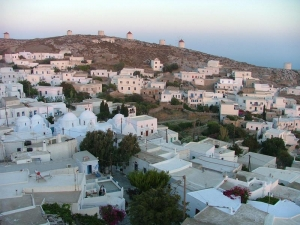 Amorgos - Chora view
