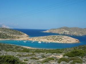 Amorgos - Kalotaritissa bay