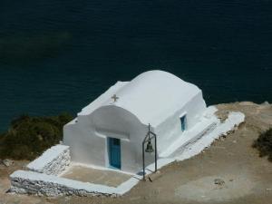 Amorgos - seaside chapel