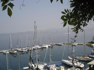 Corfu - A small marina