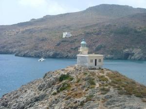 Kithira - Port lighthouse