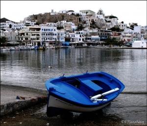 Naxos - Town view