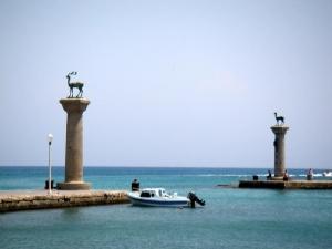Rhodes - Old harbour